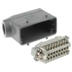 Han E Series 16 Way Male 16A Connector Kit