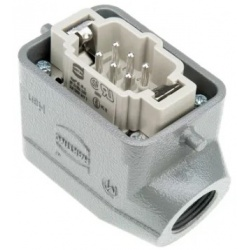 Han E Series 6 Way Male 16A Connector Kit